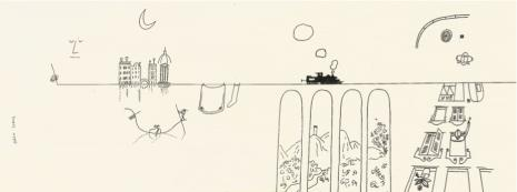 "SAUL STEINBERG AND ""THE LINE"""